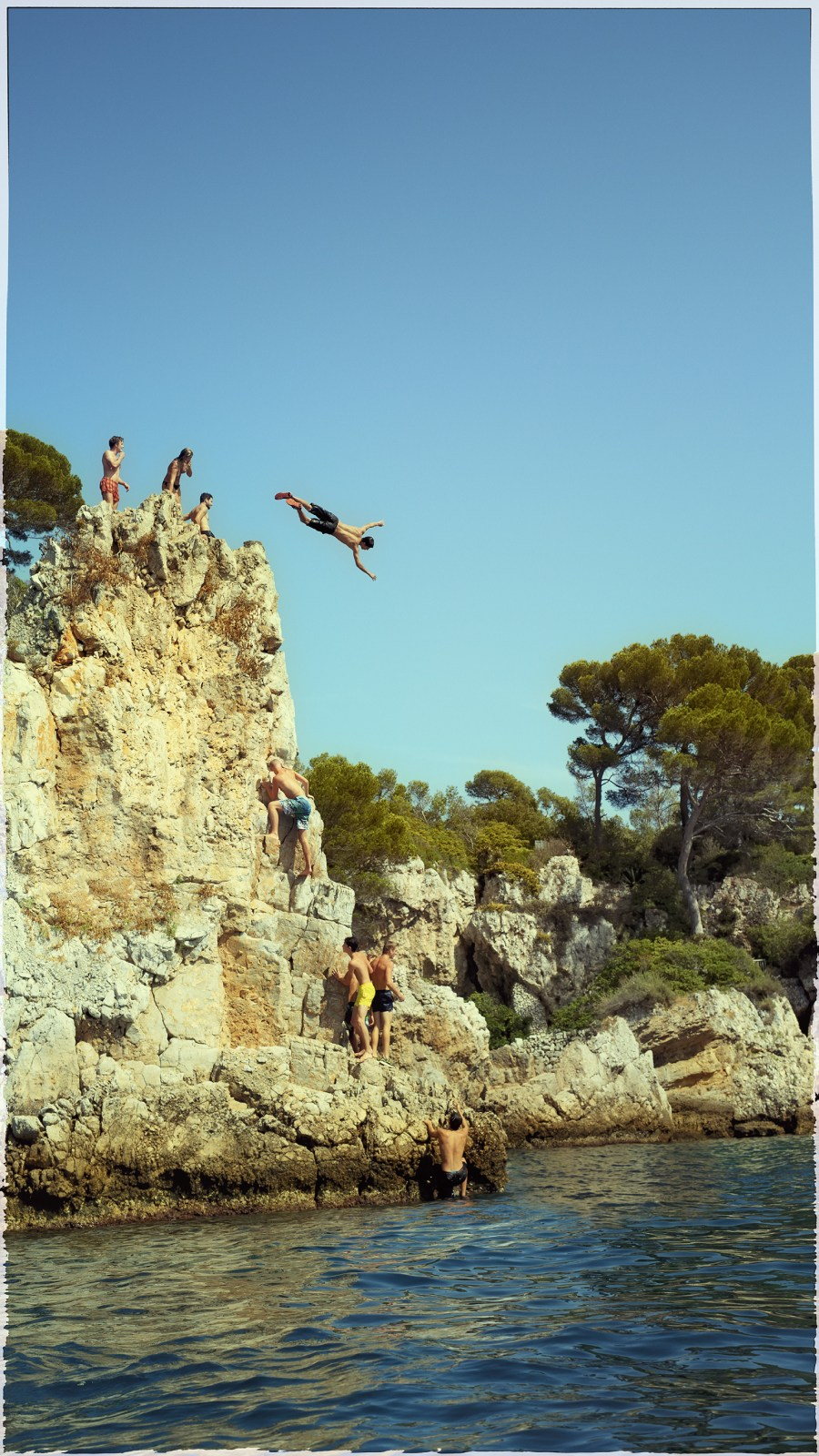 Flashback; Cliff Jumpers