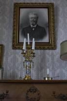 Historisch interieur; familie portret 1901