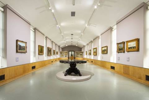 Museum Boijmans van Beuningen; zaal symmetrie