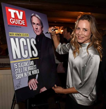 "STUDIO CITY, CA - NOVEMBER 6: Maria Bello attends the TV Guide Magazine Cover Party for Mark Harmon and 15 seasons of the CBS show ""NCIS"" at River Rock at Sportsmen's Lodge on November 6, 2017 in Studio City, California. (Photo by Frank Micelotta/PictureGroup)"