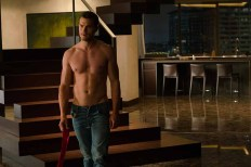 """JAMIE DORNAN returns as Christian Grey in """"Fifty Shades Freed,"""" the climactic chapter based on the worldwide bestselling """"Fifty Shades"""" phenomenon. Bringing to a shocking conclusion events set in motion in 2015 and 2017's blockbuster films that grossed almost $950 million globally, the film arrives for Valentine's Day 2018."""