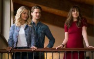 """(L to R) Mia Grey (RITA ORA), Elliot Grey (LUKE GRIMES) and Anastasia Steele (DAKOTA JOHNSON) in """"Fifty Shades Freed,"""" the climactic chapter based on the worldwide bestselling """"Fifty Shades"""" phenomenon. Bringing to a shocking conclusion events set in motion in 2015 and 2017's blockbuster films that grossed almost $950 million globally, the film arrives for Valentine's Day 2018."""