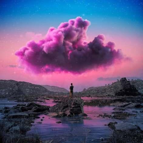 nuage art croire