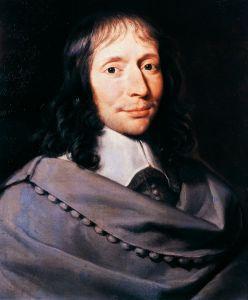 Portrait de l'homme Blaise Pascal
