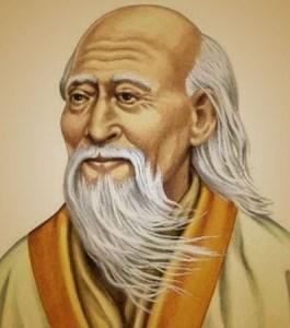 Portrait de l'homme Lao-Tseu
