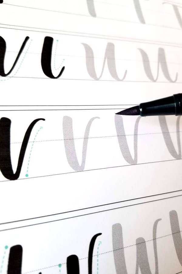 Guide d'introduction à la calligraphie moderne 04