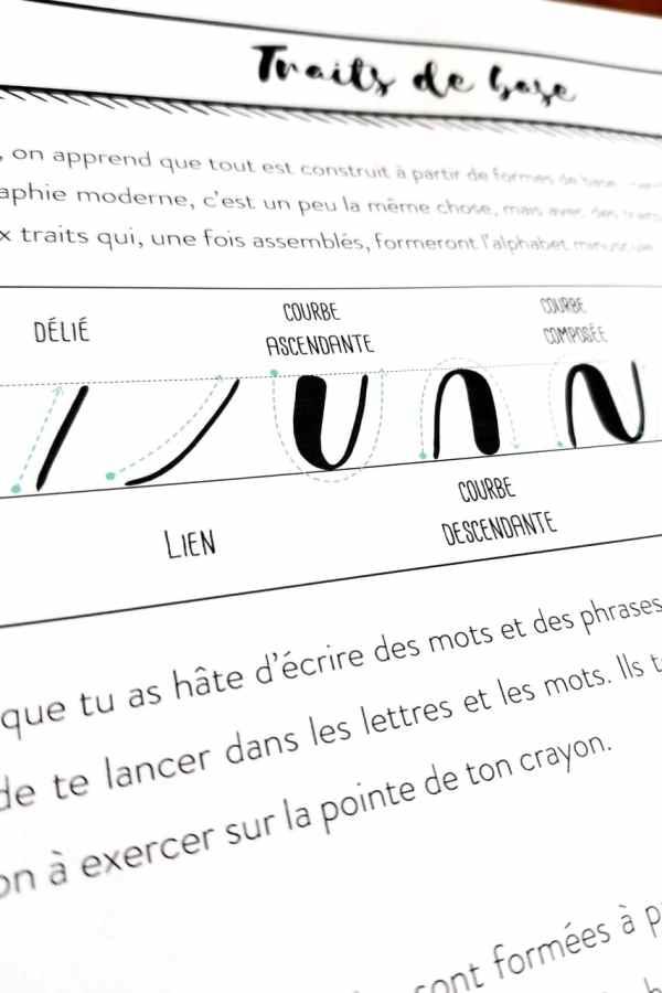 Guide d'introduction à la calligraphie moderne 09