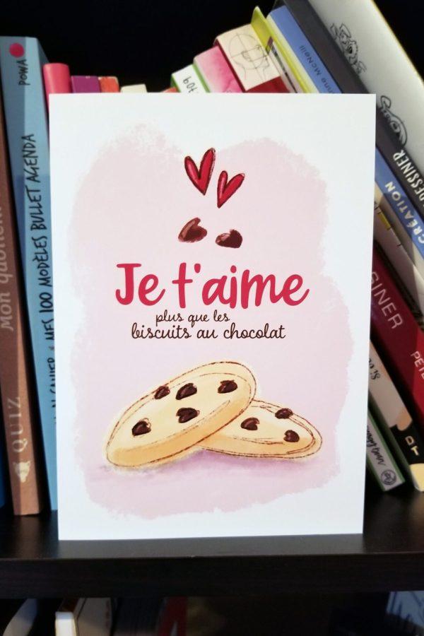 Amoureux des biscuits au chocolat - Photo