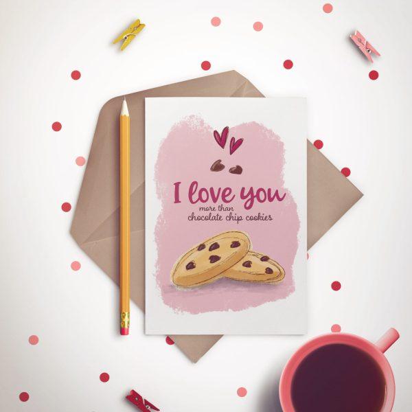 Chocolate Cookie Lovers - Mockup