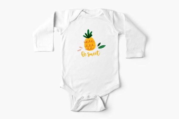 Ananas en folie - Couvre-couche