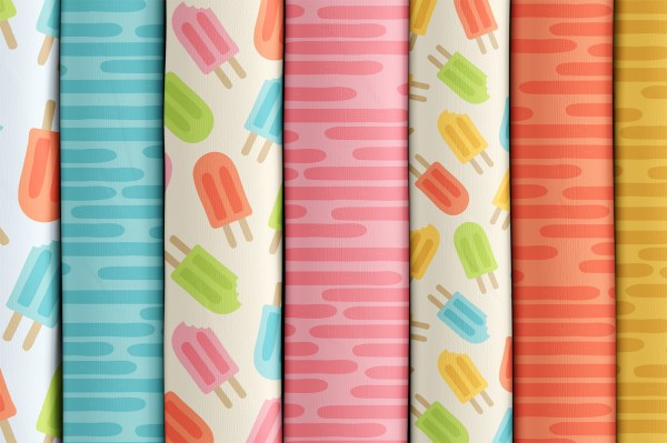 Cool Popsicles - Tissus