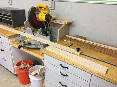 Cutting Drawer Components to Length