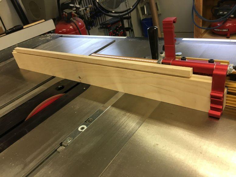 Cutting Sides of Lock Notch