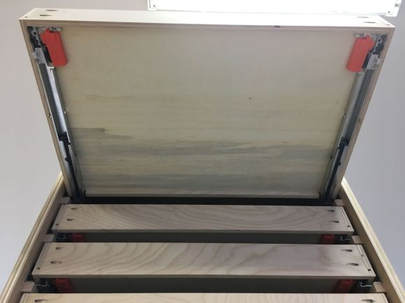 Installed Drawer from Below