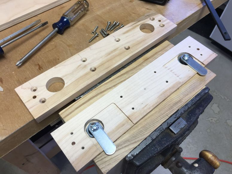 Test Assembly of Lock Mechanism
