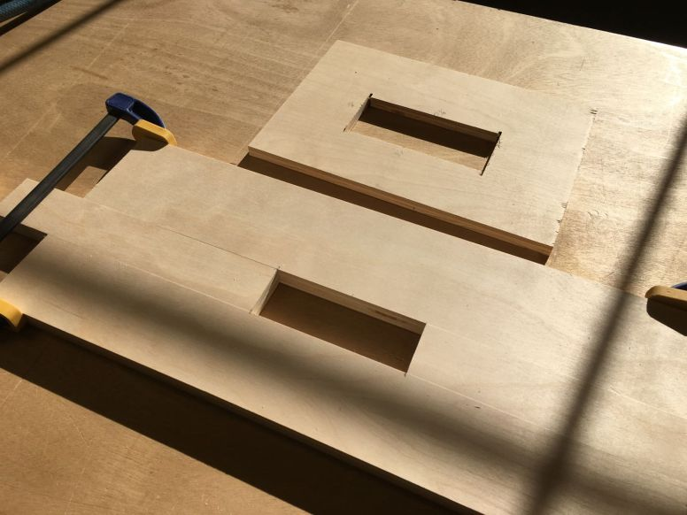 Building a router jig for leg mortises