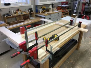 Bessey bar clamps and F-style clamps