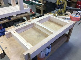 Rail assembly dry fit