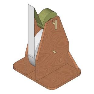DESIGN :: 3D design rendered in SketchUp