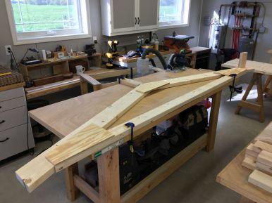 Workbench Becoming Truss Assembly Jig