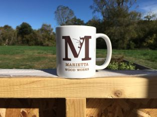 Marietta Wood Works Logo by Mike Mahan