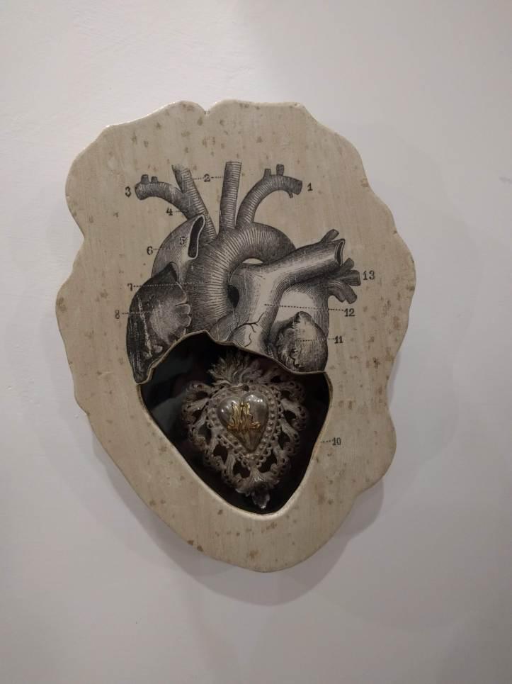 The original Sacred Heart Display Case