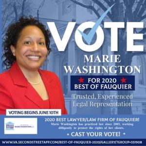 Best of Fauquier 2020 Flyer - Best of Fauquier 2020 Flyer