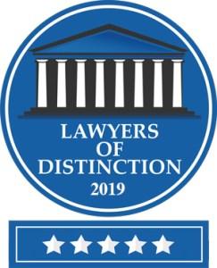 Lawyers of Distinction 2019 Logo - Lawyers-of-Distinction-2019-Logo