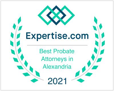 va alexandria probate lawyers 2021 - Awards