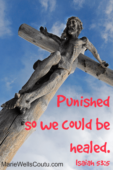 He was punished so that we could be healed.