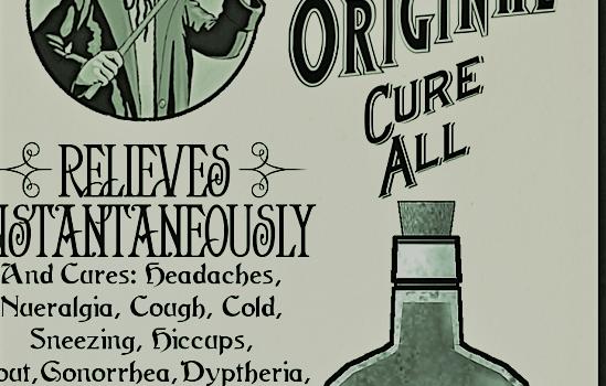snake oil cure