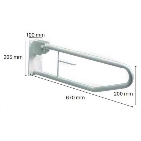 barre d appui relevable wc bain