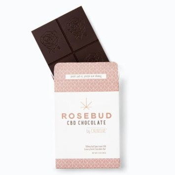 Rosebud CBD chocolate