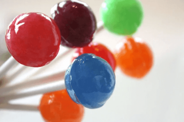 Cannabis lollipops known as hard candy reduce anxiety