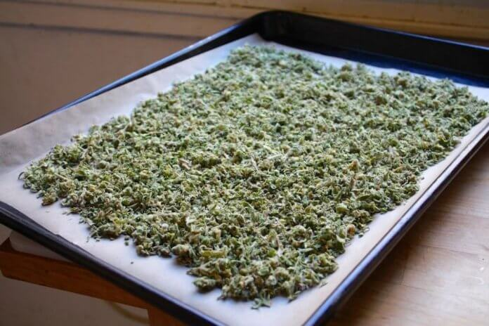 Decarboxylation of weed