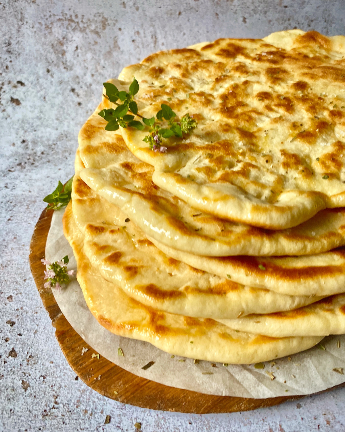 Greek Pita Bread A Delicious Flat Bread From Marilena S Kitchen