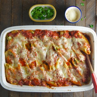 Stuffed Shells with Spinach and Ricotta