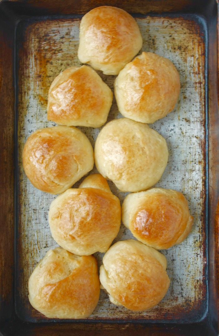 buttery bread rolls 1