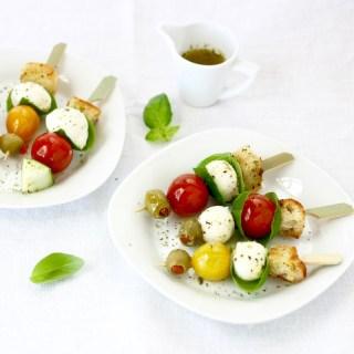Panzanella salad skewers.sq