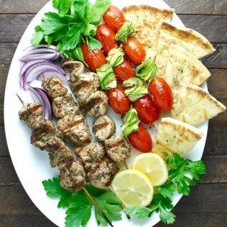 The Most Amazing Mediterranean Chicken Kebabs