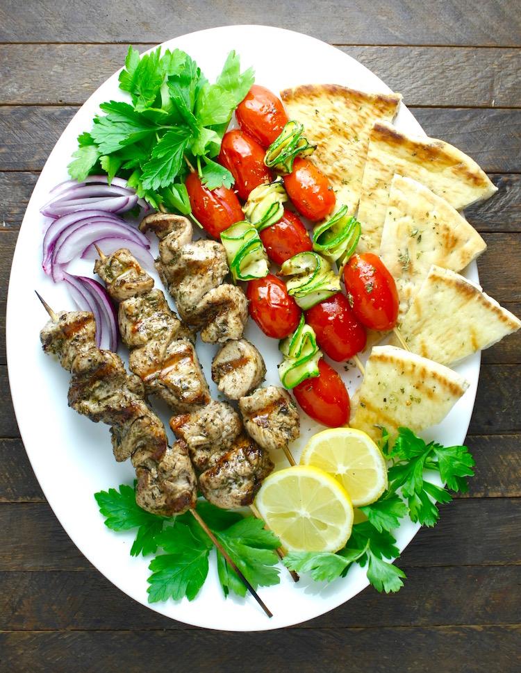 Amazing Mediterranean Chicken Kebabs
