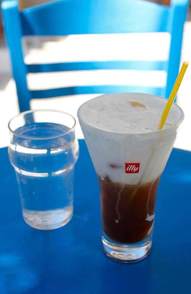 Greek Island Light - Freddo coffee
