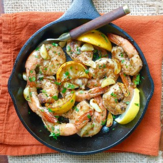 Easy Garlic Shrimp - sq.