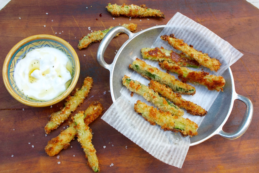 How to make Easy, Oven-Baked Zucchini Fries