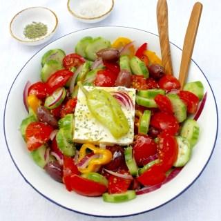 Greek Peasant Salad - SQ.