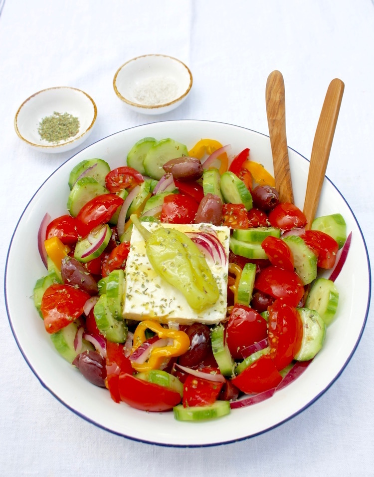 The best Greek Peasant Salad