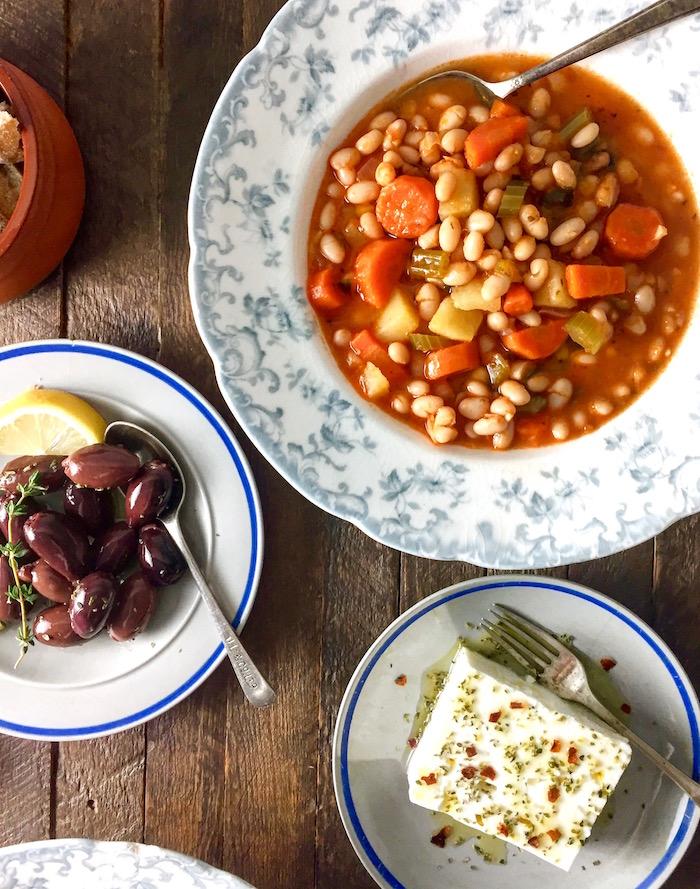 Traditional Greek Fasolada