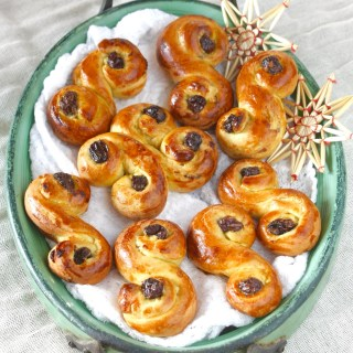Swedish Christmas Buns.Sq.