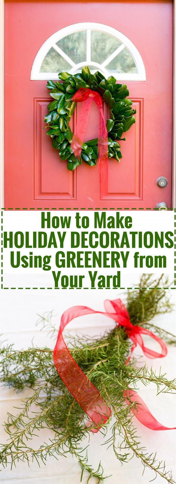 I Love The Smell Of Fresh Greenery In The House, Especially Around The  Holidays. Every Year, I Purchase A Fresh Wreath And Swag To Decorate With  Each ...