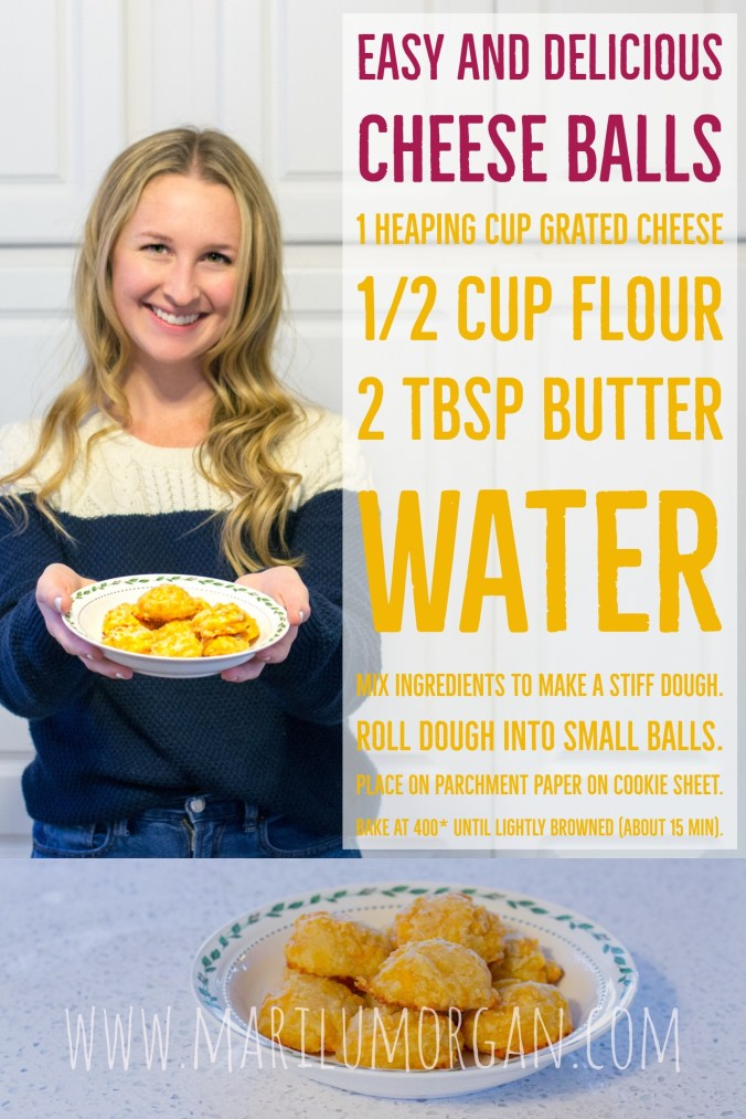 easy baked cheese balls